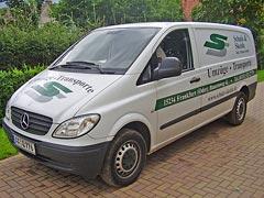 Servicefahrzeug: Individuelle Beratung bei unseren Kunden